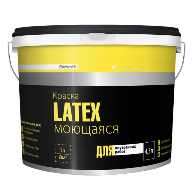Латексная моющаяся краска для стен